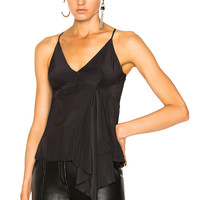 Calvin Rucker for FWRD Everybody Wants You Top in Black | FWRD