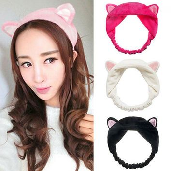 Cute Cat Fox Ears Headband Party Gift Headdress Hair Band Accessories 6 colors