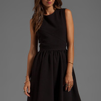 By Malene Birger Winter Crepe Imania Dress in Black from REVOLVEclothing.com