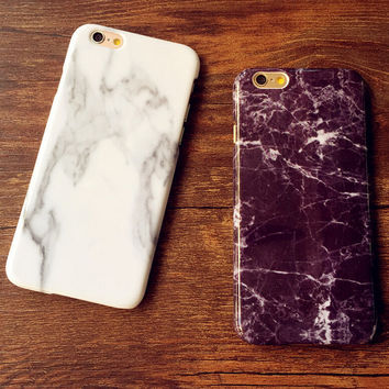Marble Case for iPhone 7 se 5S 6S 6 Plus
