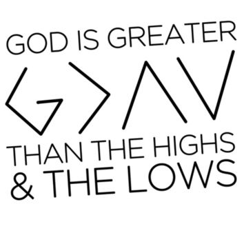 Nick Jonas God Is Greater Than The Highs & The Lows Art Print by ArtKeptSimple