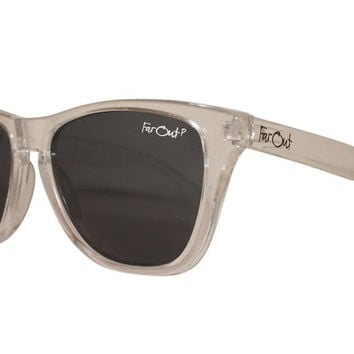 Clear Polarized Black Lens