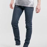 ASH BLUE COATED STRETCH SKINNY JEANS