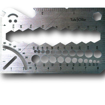 """Ollie"" Titanium Pocket Multi Tool"