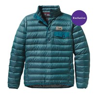 Patagonia Women's Down Snap-T® Pullover | Underwater Blue