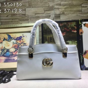 DCCK 1308 Gucci Double G 70s Fashionon Handbag white