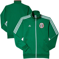 Mexico adidas Team Track Jacket – Green - http://www.shareasale.com/m-pr.cfm?merchantID=7124&userID=1042934&productID=541924695 / Mexico