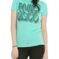Panic! At The Disco Mint Logo Girls T-Shirt