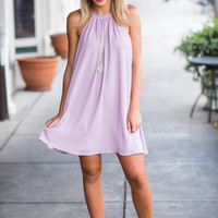 Better Days Dress, Lilac