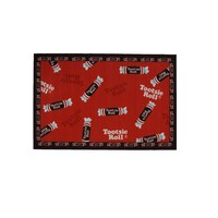 Fun Rugs Tootsie Roll Candy Rug - 19'' x 29'' (Red)