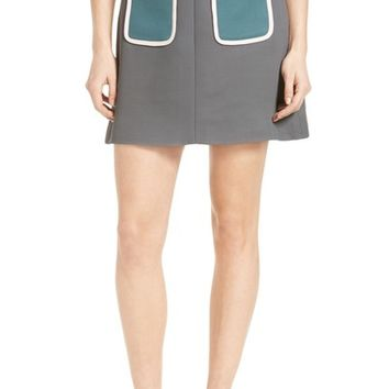 Ted Baker London Naira Contrast Pocket Skirt | Nordstrom