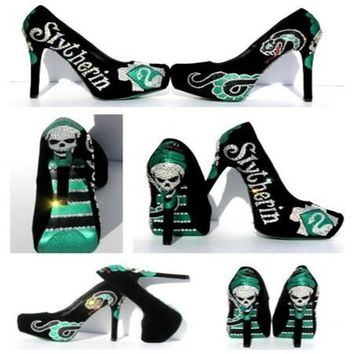 SlytherinHouse Harry Potter Heels