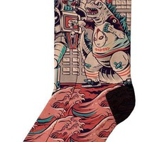 Godzilla | MID HIGH SOCKS