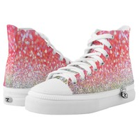Sparkle beauty printed shoes