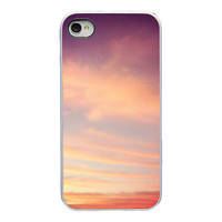 Iphone case  pink sky Iphone 4 4s and 5 case  by RetroLoveCases