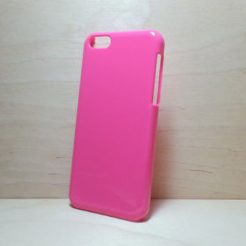 iphone 5c hard plastic case - Hot Pink (for decoden phone case)