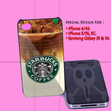 Iced Coffee Starbucks for iPhone 4/4S Case, iPhone 5/5S, 5C Case - Samsung Galaxy S3 i9300, S4 i9500 Case.