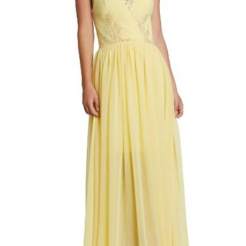 Dress the Population Lace & Chiffon Gown | Nordstrom