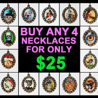 Buy 4 Pendant Necklaces For Only 25 Dollars
