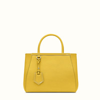 FENDI | PETITE 2JOURS tote in yellow leather