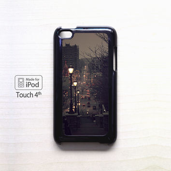 autumn night tumblr for Ipod 4/Ipod 5 apple case