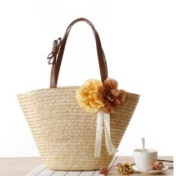Pure Straw Woven Shoulder Bag