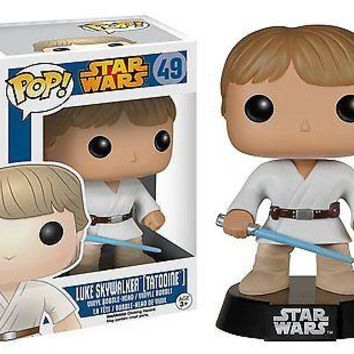 Funko Pop Star Wars: Tatooine Luke Vinyl Figure