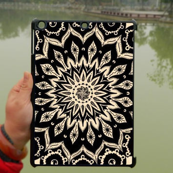 Mandala Pattern iPad Case,Flora flower iPad mini Case,iPad Air Case,iPad 3 Case,iPad 4 Case,ipad case,ipad cover, ipad mini cover ipad air,iPad 2/3/4-116
