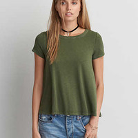 AEO Soft & Sexy Swing T-Shirt, Olive