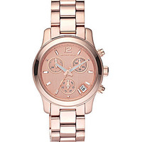 "Michael Kors ""Runway"" Chronograph Watch 