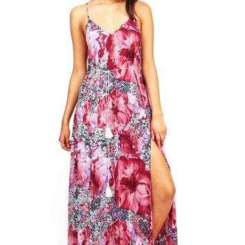 Passion Bloom Maxi Dress