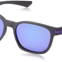 Oakley OO9175-31 Mens Bottle Rocket Iridium Sport Sunglasses,Polished Black