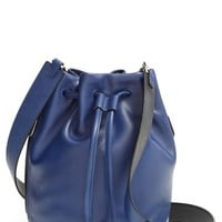 Women's MARC BY MARC JACOBS 'Luna' Leather Drawstring Bucket Bag