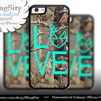 Camo Browning Buck Love iPhone 5C 6 Plus Case Doe Heart Deer iPhone 5s 4 case Ipod Cover real tree camo Country Inspired Girl