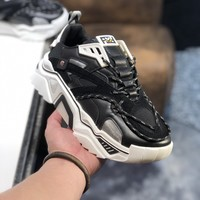 FENDI   Man Fashion Casual Shoes Men Fashion Boots fashionable Casual leather Breathable Sneakers Running Shoes Sneakers
