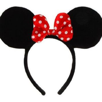elope Disney Minnie Mouse Costume Ears Headband