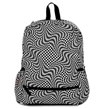 Mojo Checkered Black/White Backpack KU9882776