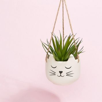 Sass & Belle Cat's Whiskers Hanging Planter at asos.com