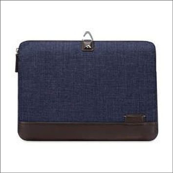 Brenthaven Collins 15 Sleeve For 15 Notebooks/Tablets, Indigo Chambray
