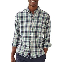 Washed Seasons Plaid Button Down in Teal/Navy/Stone by The Normal Brand - FINAL SALE