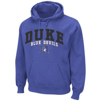 Duke Blue Devils Tiger Pullover Hoodie Sweatshirt - Duke Blue