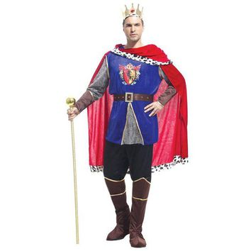 ONETOW VASHEJIANG Medieval Costume King Cosplay Costumes Prince Cosplay Halloween Carnival Costume for Men Fancy Party Dress