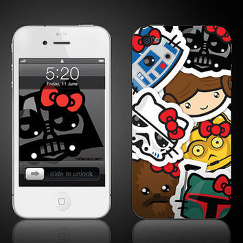 iPhone 4 and 4S decal sticker skin