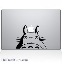 Totoro Head Macbook Decal