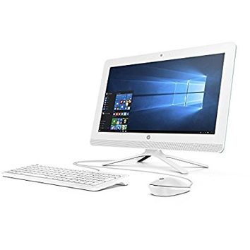 HP Pavilion 19.5 Inch All-in-One Premium Flagship Desktop Computer (Intel Dual Core Celeron J3060 1.6GHz, 4GB RAM, 500GB HDD, DVD, HDMI, USB 3.0, Webcam, Windows 10) (Certified Refurbished)