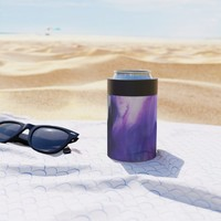 Violet Aura Can Cooler by duckyb
