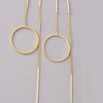 Needle & Thread Dangle Earring