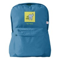 Elephant in the Jungle Personalized Backpack
