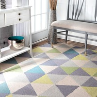 nuLOOM Bianca Triangles Area Rug