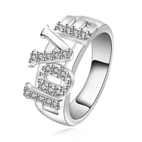 LOVE Fashion Silver Ring